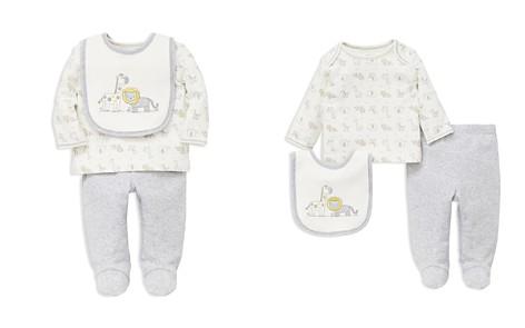 Little Me Boys' Animal-Print Tee, Footie Pants & Bib Set - Baby - Bloomingdale's_2