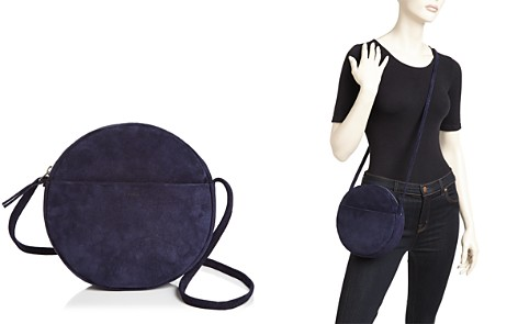 Baggu Circle Medium Suede Crossbody - Bloomingdale's_2