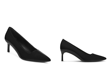 Via Spiga Women's Bethany Patent Leather Mid-Heel Pumps - Bloomingdale's_2