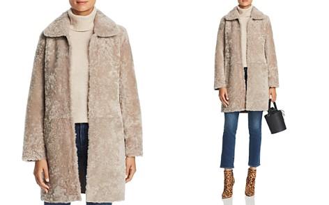 Maximilian Furs Reversible Lamb Shearling Coat - 100% Exclusive - Bloomingdale's_2