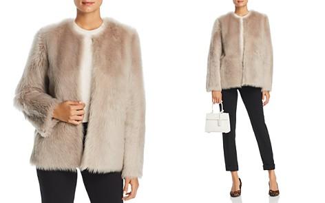 Maximilian Furs Reversible Lamb Shearling Short Jacket - 100% Exclusive - Bloomingdale's_2