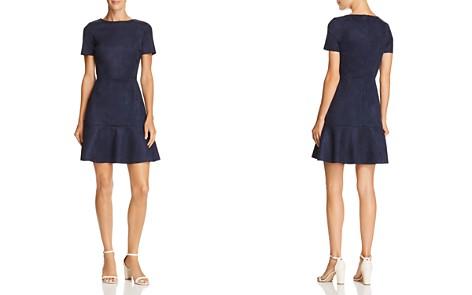 AQUA Flounce-Hem Faux Suede Dress - 100% Exclusive - Bloomingdale's_2