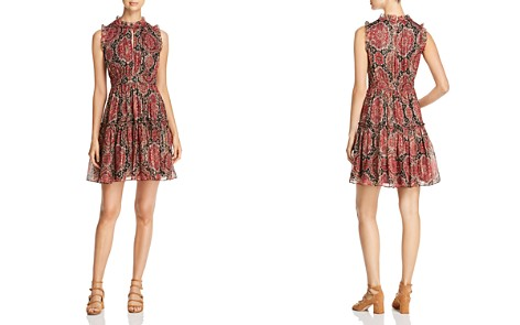 kate spade new york Metallic Medallion Print Dress - Bloomingdale's_2