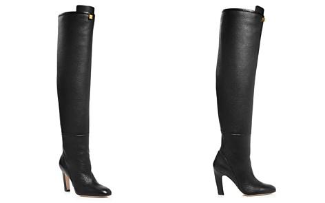 Stuart Weitzman Women's Edie Round Toe Leather High-Heel Boots - Bloomingdale's_2
