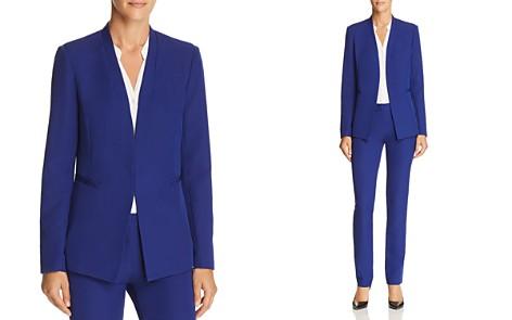 AQUA Stand-Collar Blazer - 100% Exclusive - Bloomingdale's_2