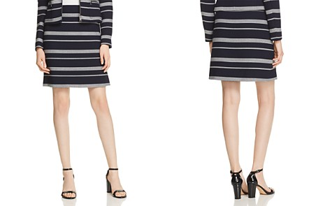 BOSS Manoara Textured A-Line Skirt - Bloomingdale's_2