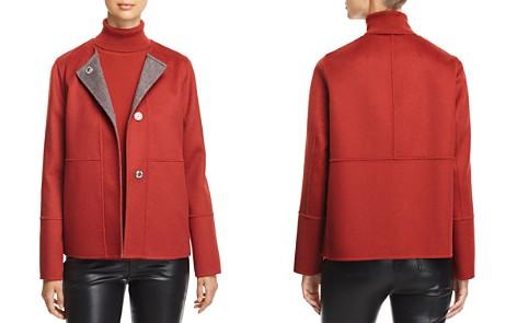 Lafayette 148 New York Reversible Wool & Cashmere Jacket - Bloomingdale's_2