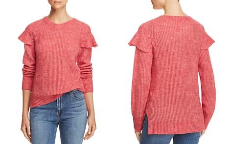La Vie Rebecca Taylor Ruffle-Trim Sweater - Bloomingdale's_2