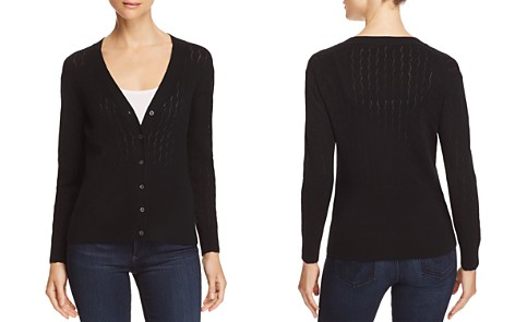 Rebecca Taylor Pointelle Cardigan - Bloomingdale's_2