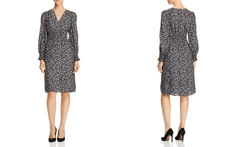 Rebecca Taylor Zelma Floral Silk Dress - 100% Exclusive - Bloomingdale's_2