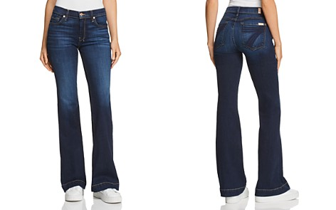 7 For All Mankind Dojo Flared Jeans in B(air) Authentic Fate - Bloomingdale's_2