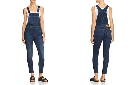 Levi's Skinny Denim Overalls in Over And Out - Bloomingdale's_2