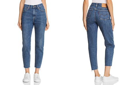 Levi's Cropped Mom Jeans in Moms The Word - Bloomingdale's_2