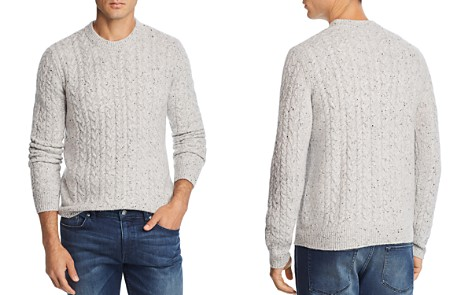 The Men's Store at Bloomingdale's Cable-Knit Cashmere Sweater - 100% Exclusive_2