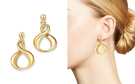 Bloomingdale's Infinity Drop Earrings in 14K Yellow Gold - 100% Exclusive_2