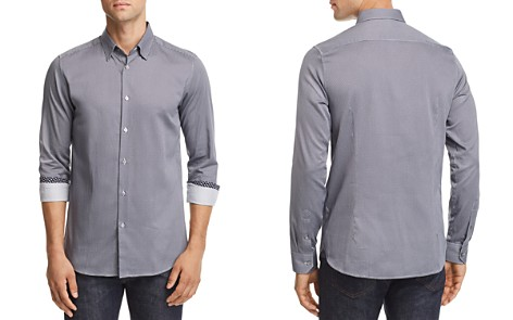 Ted Baker Bloosem Semi-Plain Regular Fit Button-Down Shirt - 100% Exclusive - Bloomingdale's_2