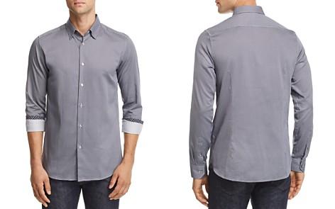 Ted Baker Bloosem Semi-Plain Regular Fit Button-Down Shirt - 100% Exclusive - Bloomingdale's_2