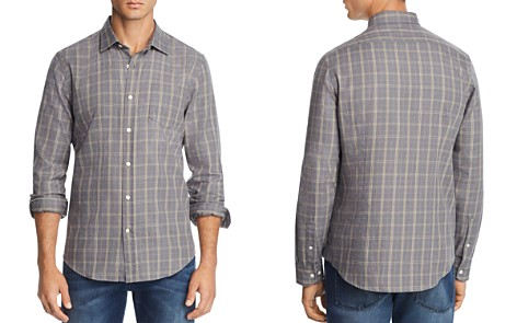 The Men's Store at Bloomingdale's Plaid Regular Fit Shirt - 100% Exclusive_2