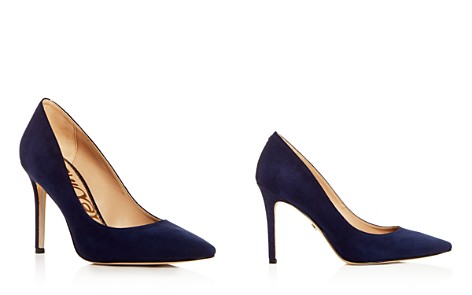 Sam Edelman Women's Hazel Suede Pointed Toe Pumps - Bloomingdale's_2