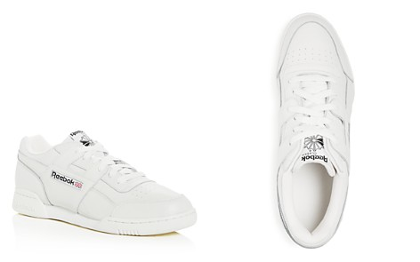 Reebok Men's Workout Plus Leather Lace-Up Sneakers - Bloomingdale's_2