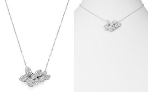 """Pasquale Bruni 18K White Gold Stella in Fiore Diamond Pendant Necklace, 16.5"""" - Bloomingdale's_2"""