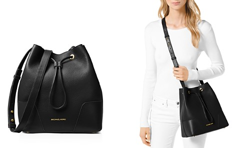 MICHAEL Michael Kors Cary Medium Leather Bucket Bag - Bloomingdale's_2
