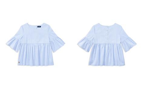 Polo Ralph Lauren Girls' Ruffled Bell-Sleeve Top - Big Kid - Bloomingdale's_2