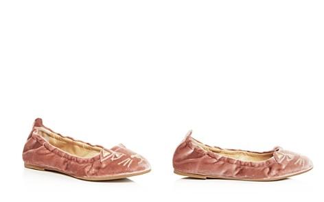 Charlotte Olympia Women's Kitty Velvet Ballet Flats - Bloomingdale's_2