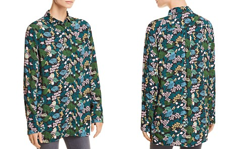 Maje Citrus Tropical Floral-Print Shirt - 100% Exclusive - Bloomingdale's_2