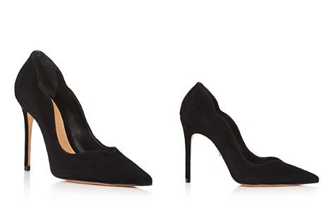 SCHUTZ Women's Monaliza Pointed Toe Suede High-Heel Pumps - Bloomingdale's_2