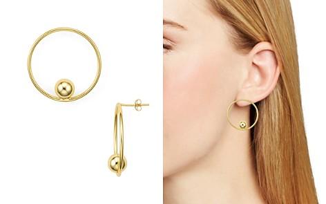 AQUA Loop & Sphere Drop Earrings - 100% Exclusive - Bloomingdale's_2