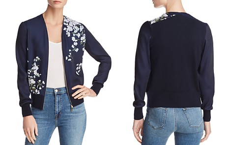Ted Baker Elmino Graceful Zip Cardigan - 100% Exclusive - Bloomingdale's_2