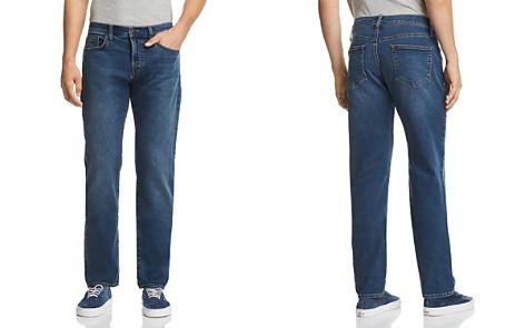 J Brand Kane Straight Slim Fit Jeans in Bankso - Bloomingdale's_2