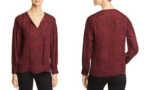 Kobi Halperin Kylee Printed Silk Blouse - Bloomingdale's_2