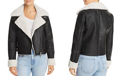 BLANKNYC Faux Shearling Moto Jacket - Bloomingdale's_2