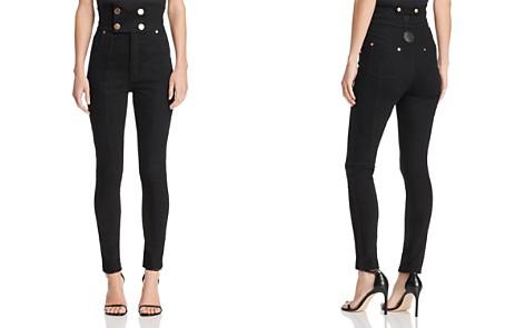 Alice McCall Jadore High Rise Skinny Jeans in Black - Bloomingdale's_2