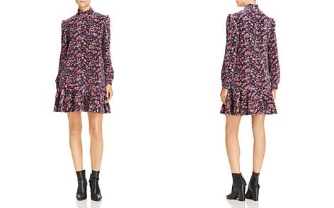 La Vie Rebecca Taylor Toile Velvet Dress - Bloomingdale's_2