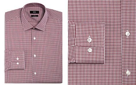 BOSS Gingham Slim Fit Dress Shirt - Bloomingdale's_2