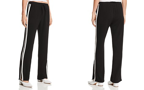 AQUA Slit-Hem Track Pants - 100% Exclusive - Bloomingdale's_2