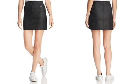 Rebecca Minkoff Emery Zip-Detail Mini Skirt - Bloomingdale's_2