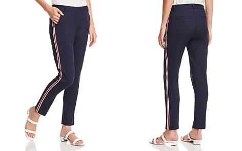AQUA Track Stripe Straight-Leg Pants - 100% Exclusive - Bloomingdale's_2
