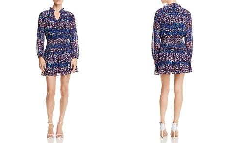 AQUA Confetti Floral Smocked Dress - 100% Exclusive - Bloomingdale's_2