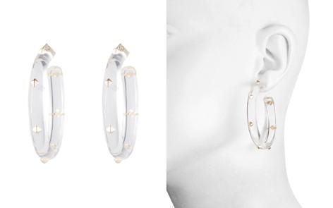 Alexis Bittar Studded Lucite Hoop Earrings - Bloomingdale's_2