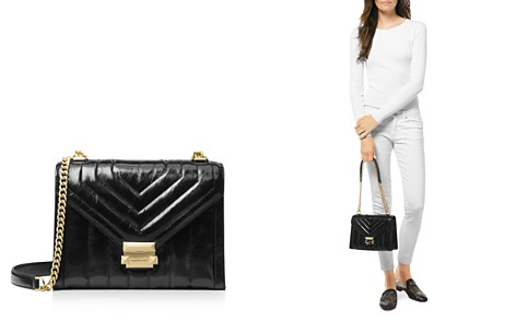 MICHAEL Michael Kors Whitney Large Quilted Leather Shoulder Bag - Bloomingdale's_2