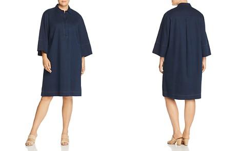 Lafayette 148 New York Plus Cara Denim Shirt Dress - Bloomingdale's_2