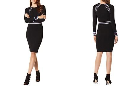 KAREN MILLEN Sporty Striped Detail Sweater Dress - Bloomingdale's_2