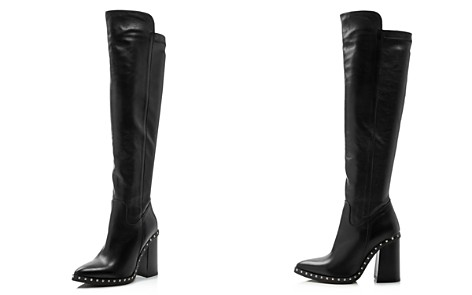 Charles David Women's Shania Studded Leather Tall High-Heel Boots - Bloomingdale's_2