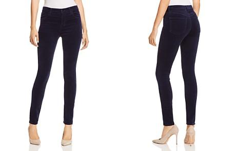 J Brand Maria Velvet Skinny Jeans in Night Out - Bloomingdale's_2