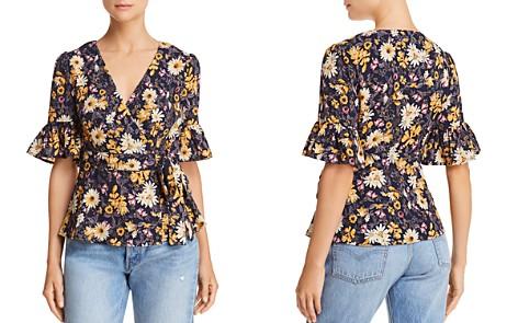 JOA Floral-Print Wrap Top - Bloomingdale's_2