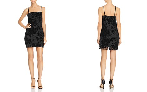 Parker Salem Floral Velvet Mini Dress - Bloomingdale's_2
